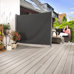 Trennwand Garten Sichtschutz Terrasse