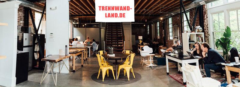 Bürotrennwände auf Trennwand-Land.de